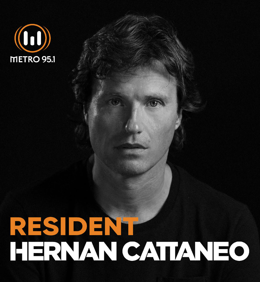 Luke Hunter remix supported by Hernan Cattaneo on his Resident Podcast 391