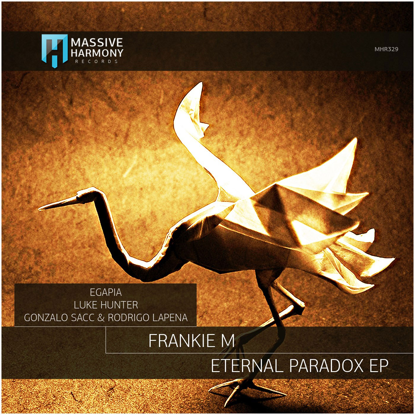 "Frankie M - ""Eternal Paradox"" (Luke Hunter Remix) on Massive Harmony Records"